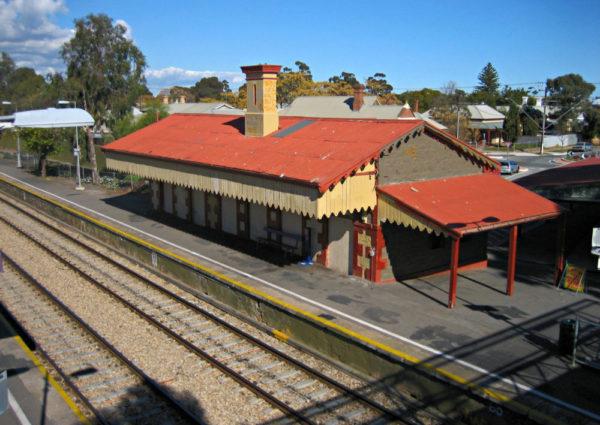 Alberton railway station in Gauteng