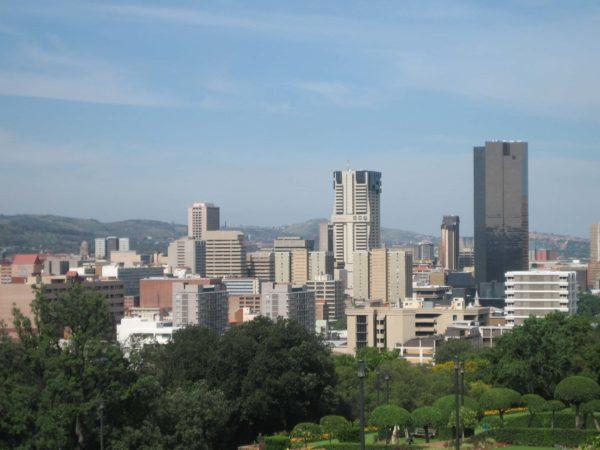Centurion, Pretoria skyline