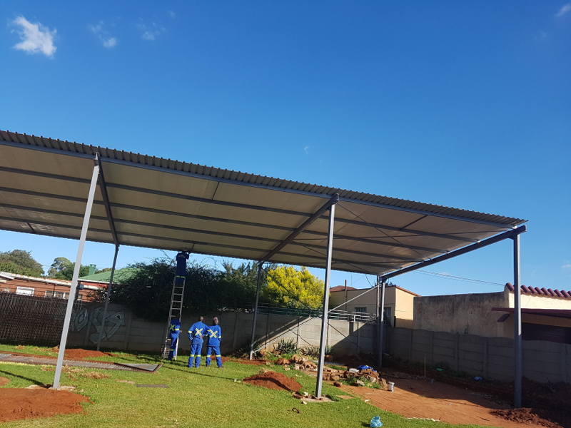 SSS Structural Steel roof